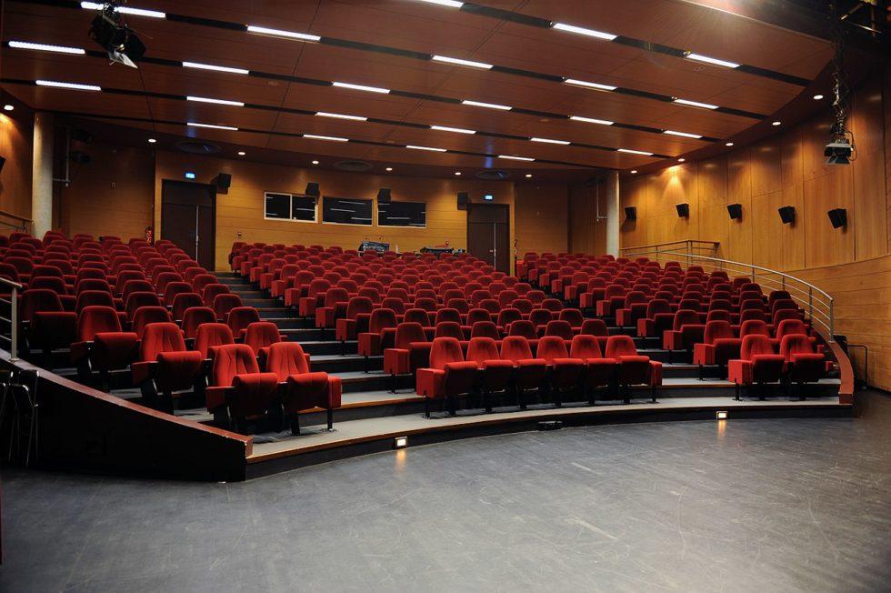 L'auditorium du Tambour à l'université Rennes 2